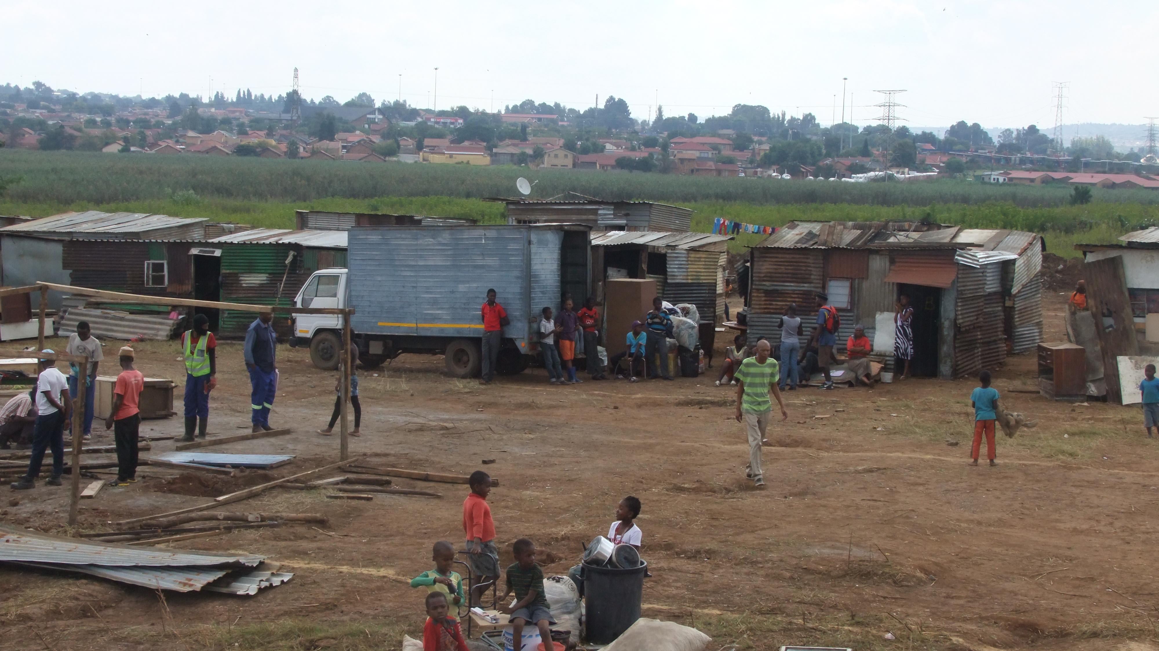 kliptown communities in gauteng relocate after heavy