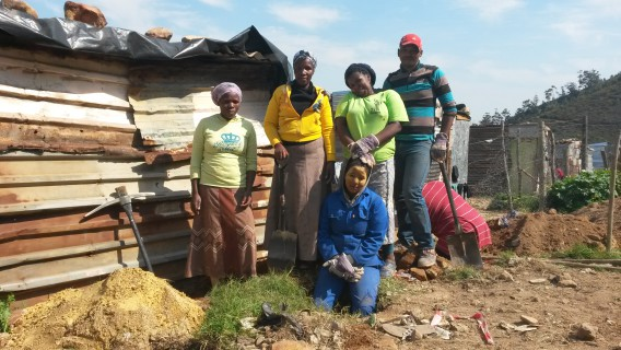 The construction team