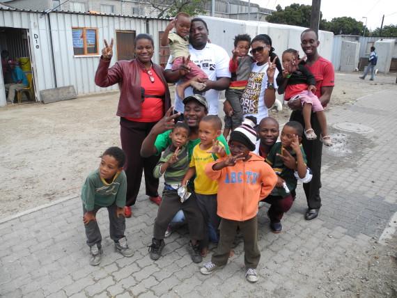 Field visit in Flamingo Informal Settlement