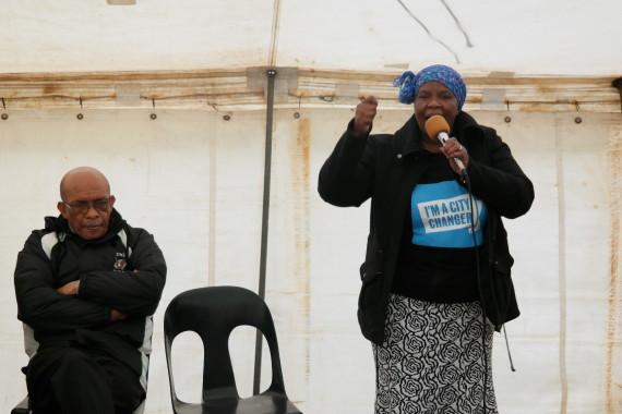 KZN FEDUP Coordinator, MaMKhabela