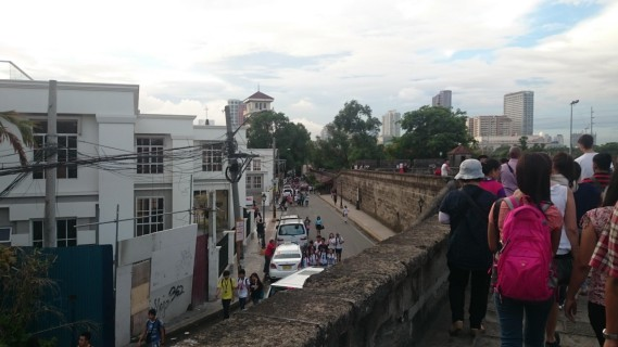 Figure 6: Intramuros site visit.