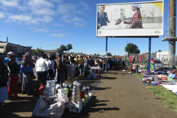 Queuing for social grants in Bethal Mpumalanga