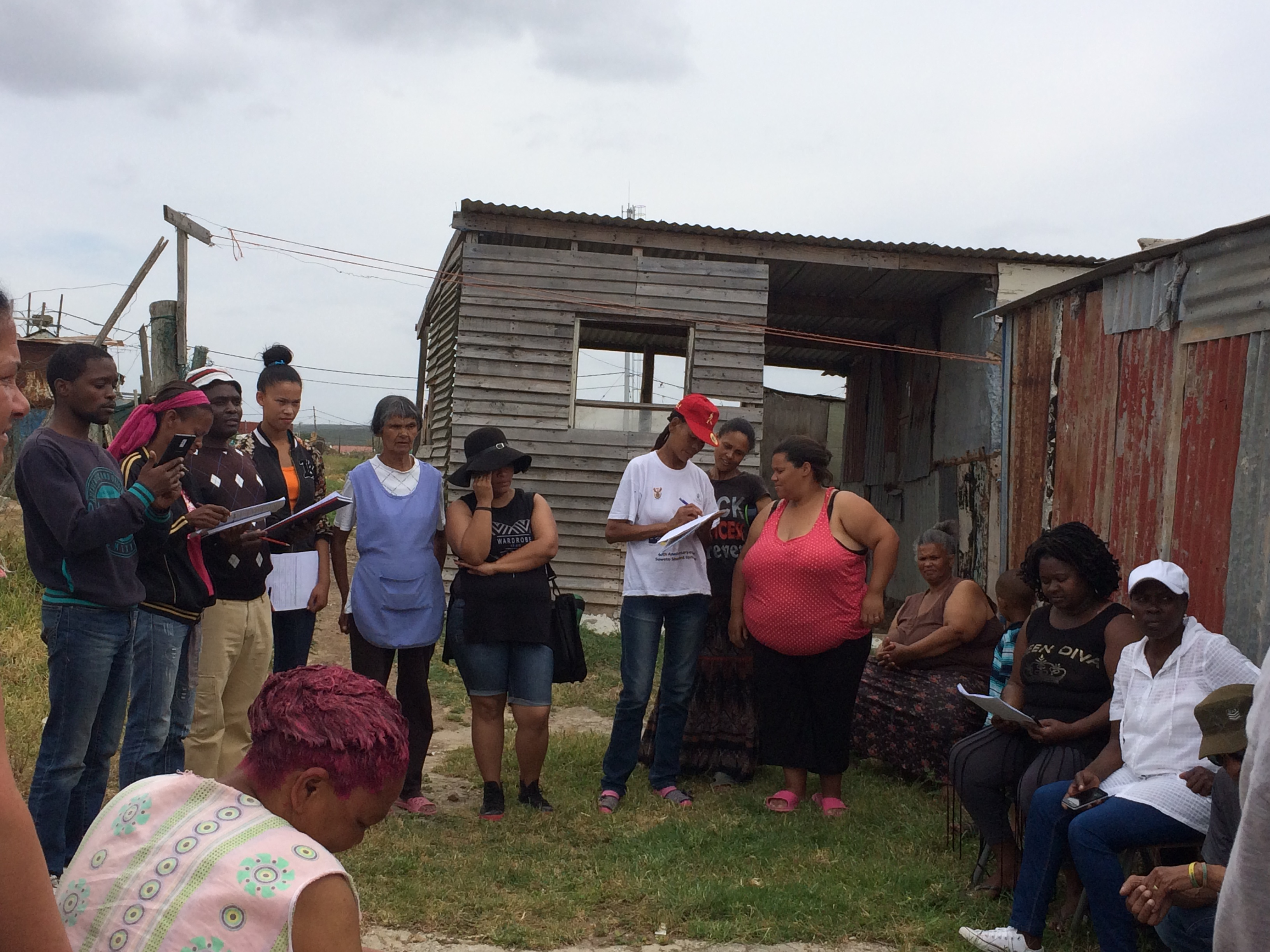 Profiling of informal settlements taking place in the Nelson Mandela Bay Metro